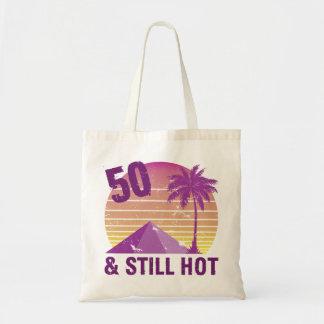 Funny 50th Birthday Hot Tote Bag