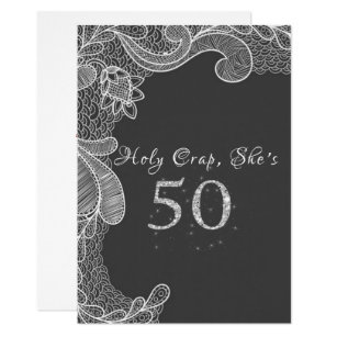 Funny 50th birthday invitations announcements zazzle funny 50th birthday party invitation stopboris Images
