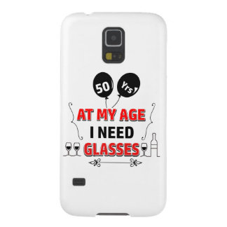 Funny 50th year birthday gift case for galaxy s5