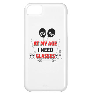 Funny 50th year birthday gift iPhone 5C cover