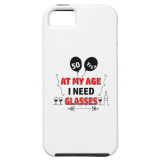 Funny 50th year birthday gift iPhone SE/5/5s case