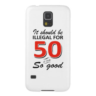 Funny 50th year old birthday designs galaxy s5 cover