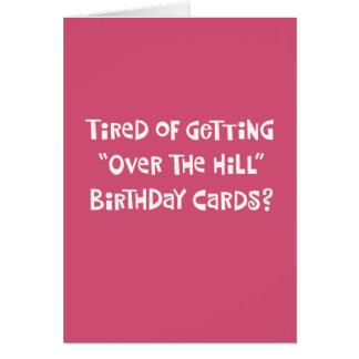 Funny 55th Birthday Greeting Card