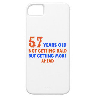 funny 57 years old not bald iPhone SE/5/5s case
