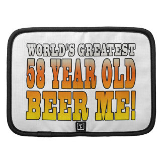Funny 58th Birthdays : Worlds Greatest 58 Year Old Planner