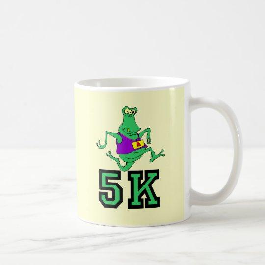 Funny 5K alien running Coffee Mug