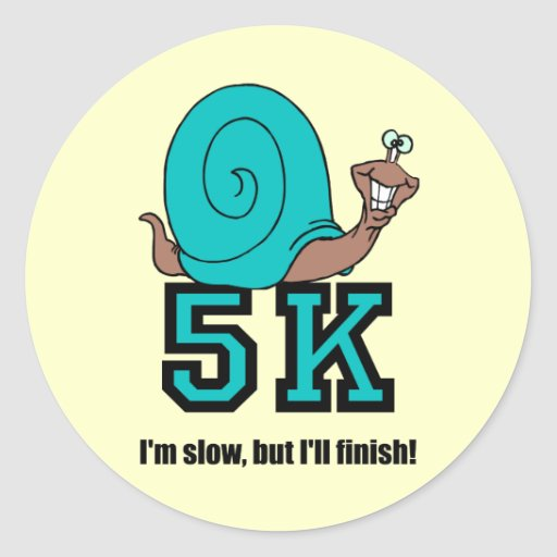 Funny 5K Stickers