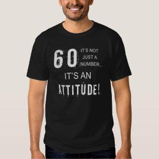 Funny 60th Birthday Attitude T-Shirt