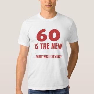 Funny 60th Birthday Gag Gifts T-shirt