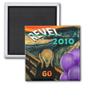 Funny 60th Birthday 2 Inch Square Magnet
