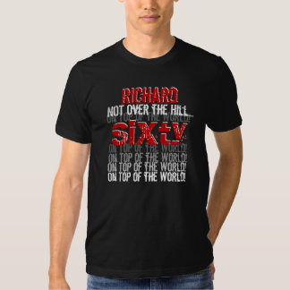 Funny 60th Birthday On Top of the World G561 T-shirt