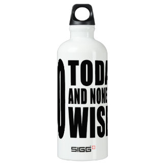 Funny 60th Birthdays : 60 Today and None the Wiser SIGG Traveler 0.6L Water Bottle