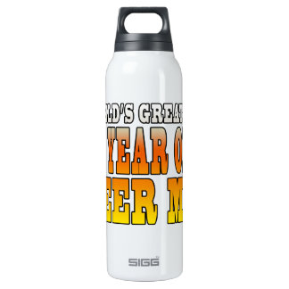 Funny 60th Birthdays : Worlds Greatest 60 Year Old 16 Oz Insulated SIGG Thermos Water Bottle
