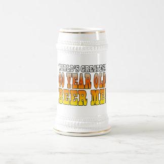 Funny 60th Birthdays : Worlds Greatest 60 Year Old 18 Oz Beer Stein