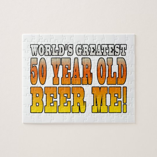 Funny 60th Birthdays : Worlds Greatest 60 Year Old Jigsaw Puzzle