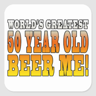 Funny 60th Birthdays : Worlds Greatest 60 Year Old Square Sticker