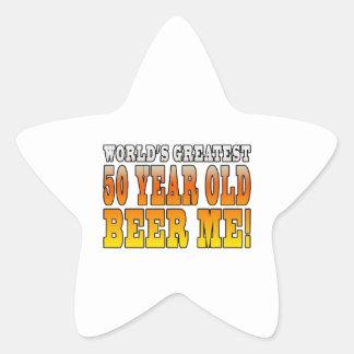 Funny 60th Birthdays : Worlds Greatest 60 Year Old Star Sticker