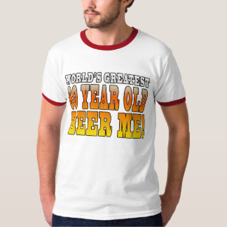 Funny 60th Birthdays : Worlds Greatest 60 Year Old Tees