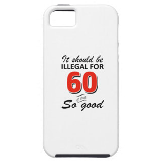Funny 60th year old birthday designs iPhone SE/5/5s case