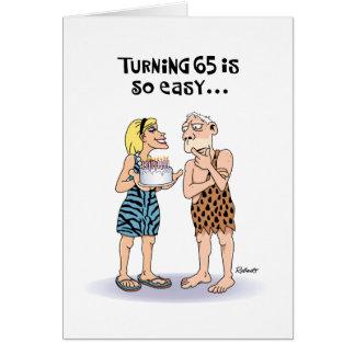 Funny 65th Birthday Greeting Card