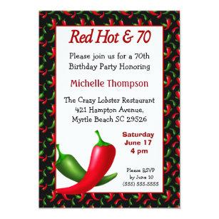 Funny 70th Birthday Invitation