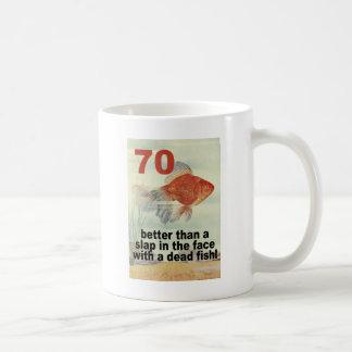 Funny 70th Birthday Classic White Coffee Mug