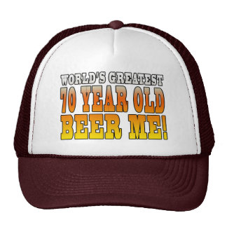 Funny 70th Birthdays : Worlds Greatest 70 Year Old Trucker Hat