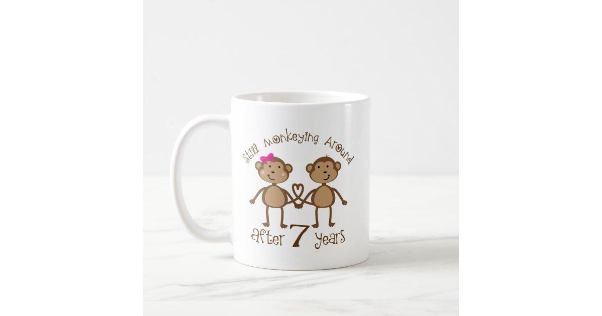 Wedding Gift Coffee Mugs : Funny 7th Wedding Anniversary Gifts Coffee Mug Zazzle
