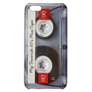 Funny 80's Cassette Tape, Personalized iPhone 5C Case