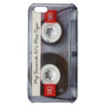 Funny 80's Cassette Tape, Personalized iPhone 5C Covers