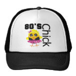 Funny 80s Chick Trucker Hat