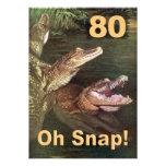 Funny 80th Birthday Party Invitations