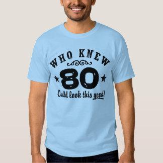 Funny 80th Birthday Shirt