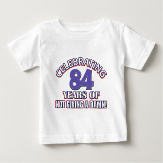 Funny 84th year designs baby T-Shirt