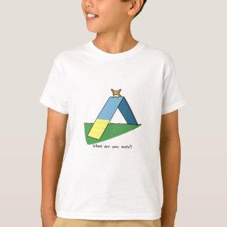 Funny A-Frame Corgi Agility Child's T-Shirt