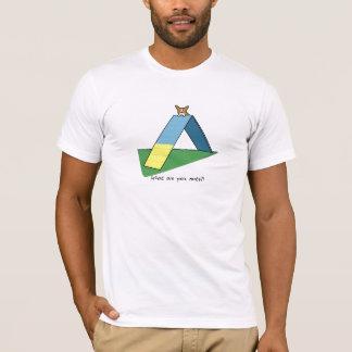 Funny A-Frame Corgi Agility TeeShirt T-Shirt
