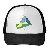 Funny A-Frame Corgi Agility Trucker Hat