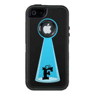 Funny Abducted Monogram OtterBox Defender iPhone Case