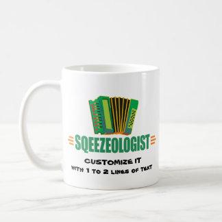 Funny Accordion Coffee Mug
