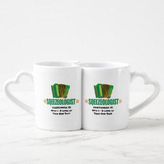 Funny Accordion Coffee Mug Set