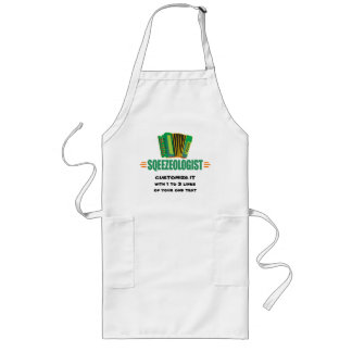 Funny Accordion Long Apron