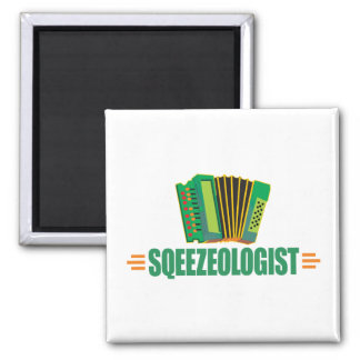 Funny Accordion Magnet