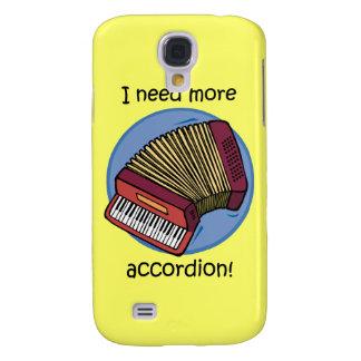funny accordion samsung galaxy s4 cover