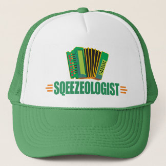 Funny Accordion Trucker Hat