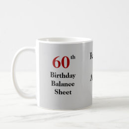 Funny Accountant 60th Birthday Joke Coffee Mug