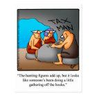 Funny Accountant Humor Postcard