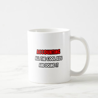 Funny Accountant Shirts and Gifts Classic White Coffee Mug