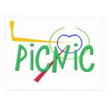 Funny Acronym- PICNIC Postcard