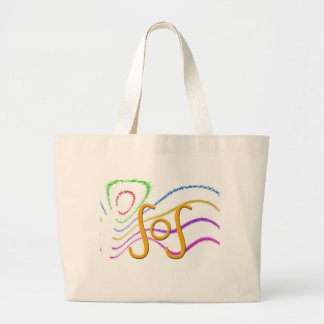 Funny Acronyms- SOS Large Tote Bag