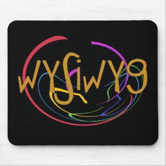 Funny Acronyms- WYSIWYG Mouse Pad